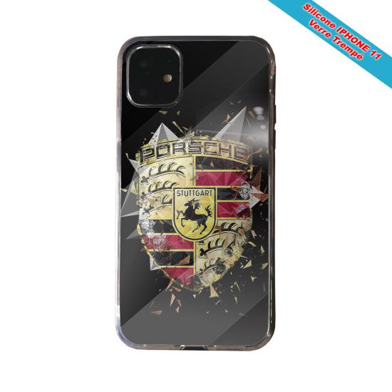 Coque silicone Galaxy A21 Fan de Rugby Bordeaux Destruction