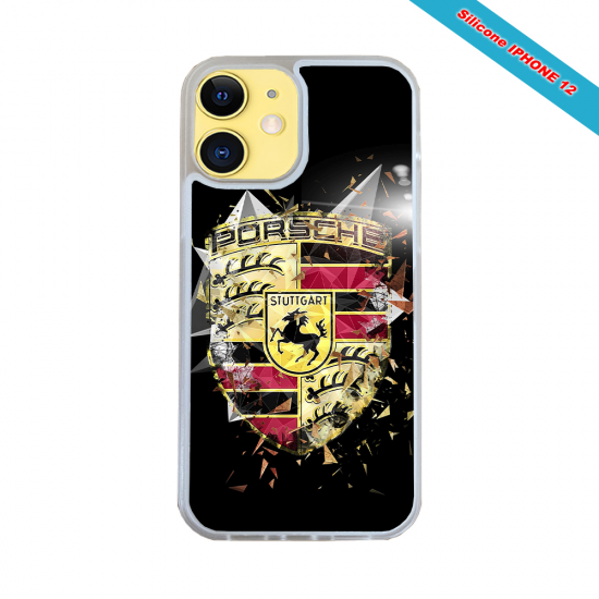 Coque silicone Galaxy A41 Fan de Rugby Bordeaux Destruction
