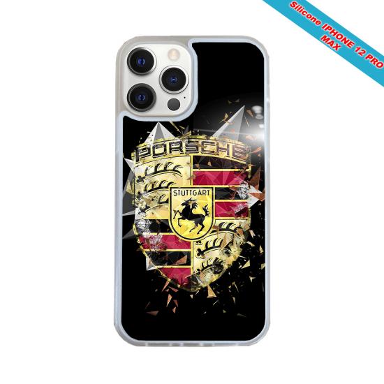 Coque silicone Galaxy A51 Fan de Rugby Bordeaux Destruction