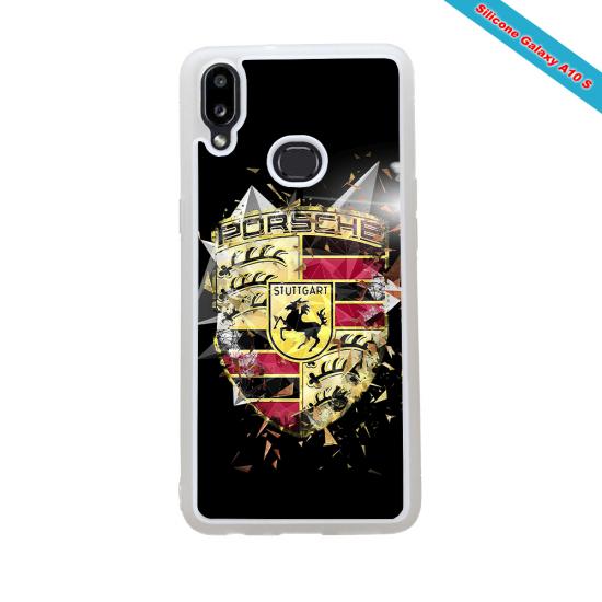 Coque silicone Galaxy A71 Fan de Rugby Bordeaux Destruction
