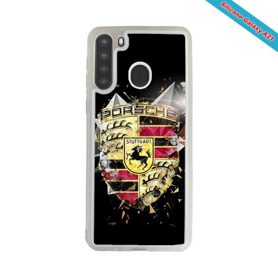 Coque silicone Galaxy J3 2018 Fan de Rugby Bordeaux Destruction
