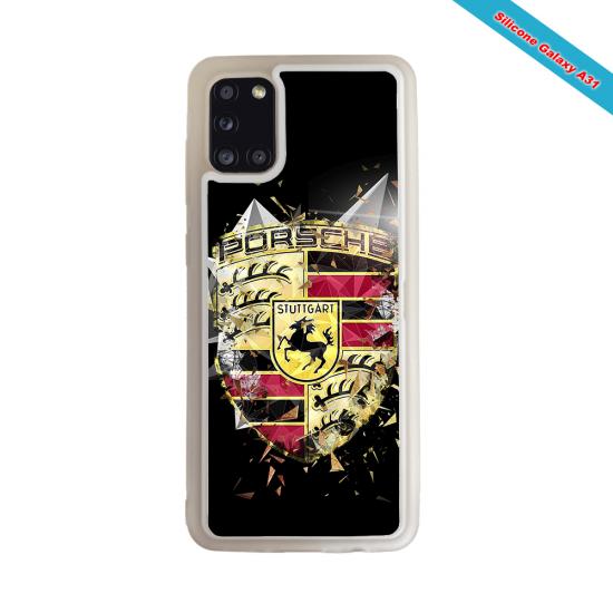 Coque silicone Galaxy J4 PLUS Fan de Rugby Bordeaux Destruction