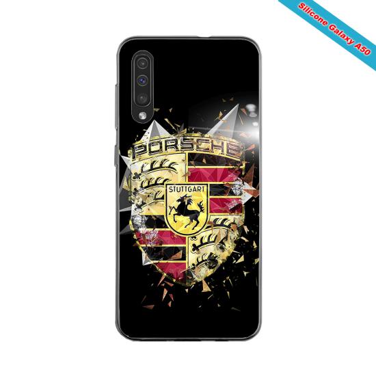 Coque silicone Galaxy J6 PLUS Fan de Rugby Bordeaux Destruction
