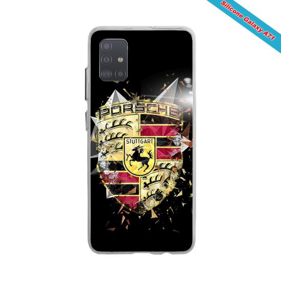 Coque silicone Galaxy J7 2018 Fan de Rugby Bordeaux Destruction