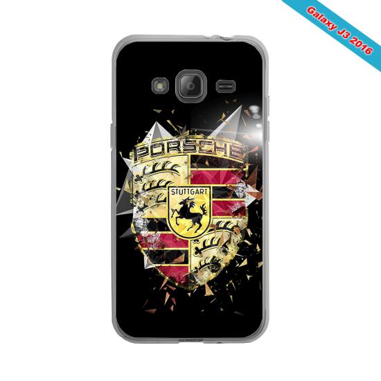 Coque silicone Galaxy J8 Fan de Rugby Bordeaux Destruction
