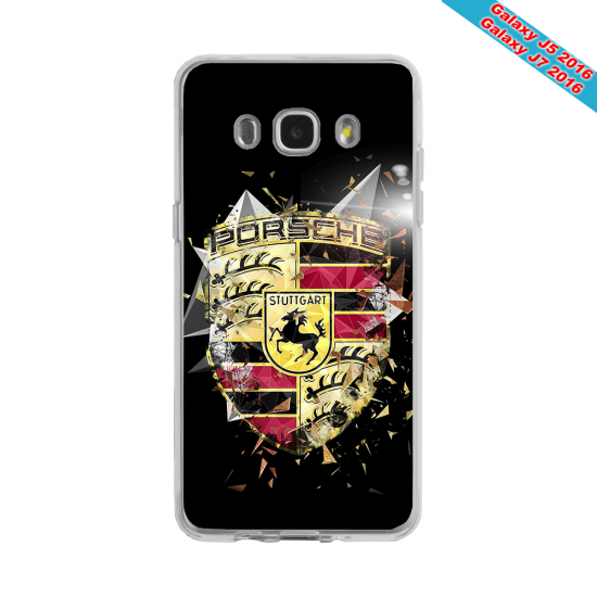 Coque Silicone Galaxy S6 EDGE Fan de Rugby Bordeaux Destruction