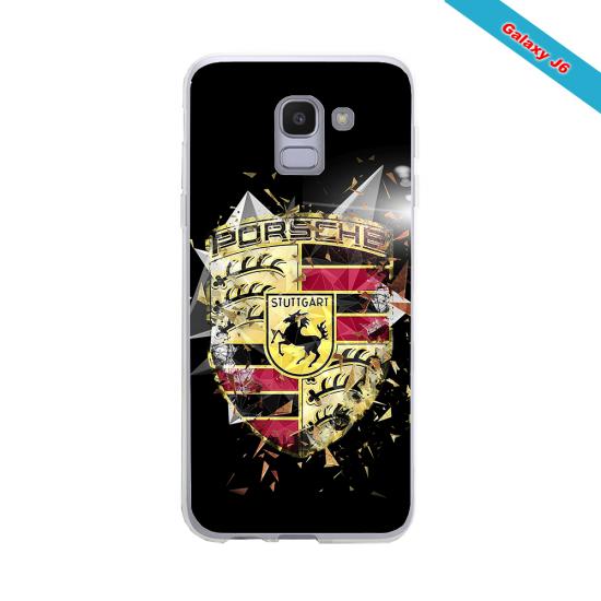 Coque Silicone Galaxy S7 EDGE Fan de Rugby Bordeaux Destruction