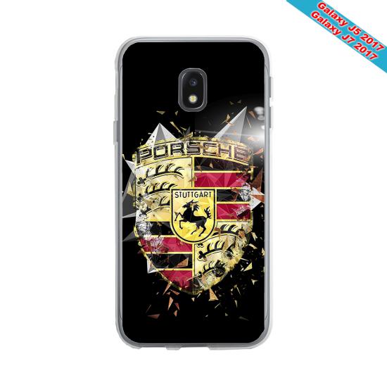 Coque Silicone Galaxy S9 Fan de Rugby Bordeaux Destruction