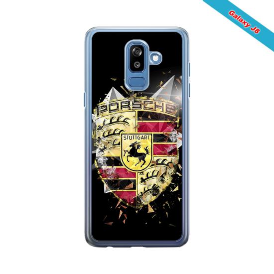 Coque Silicone Galaxy S9 PLUS Fan de Rugby Bordeaux Destruction