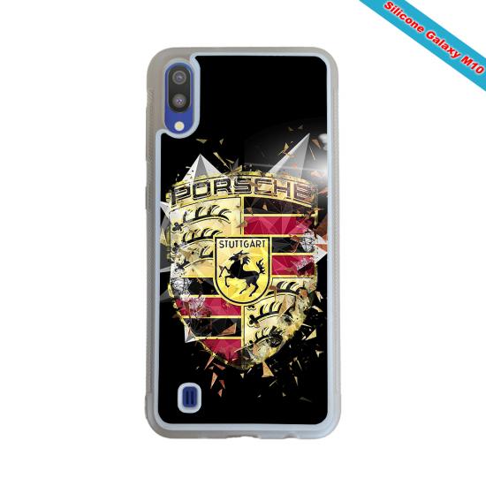 Coque Silicone Galaxy S9 PLUS verre trempé Fan de Rugby Bordeaux Destruction