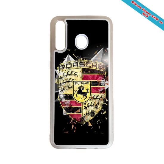 Coque Silicone Galaxy S10E Fan de Rugby Bordeaux Destruction
