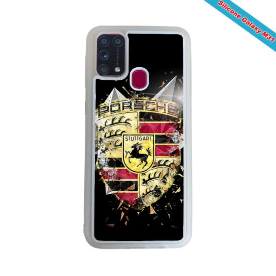 Coque Silicone Galaxy S10E verre trempé Fan de Rugby Bordeaux Destruction