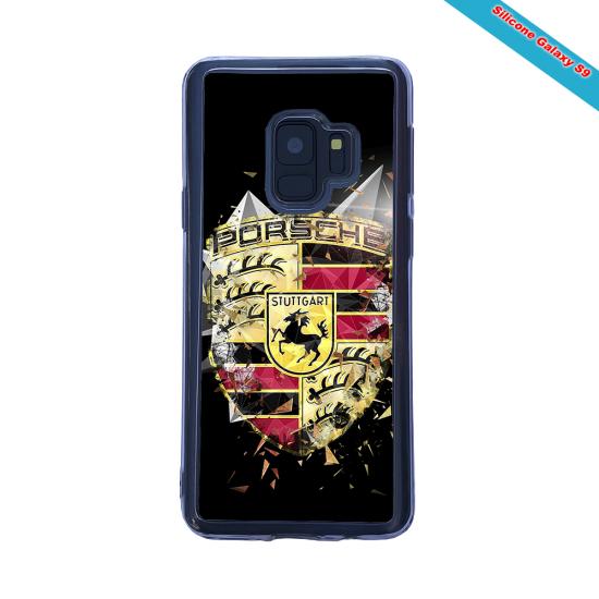 Coque Silicone Galaxy S20 ULTRA Fan de Rugby Bordeaux Destruction