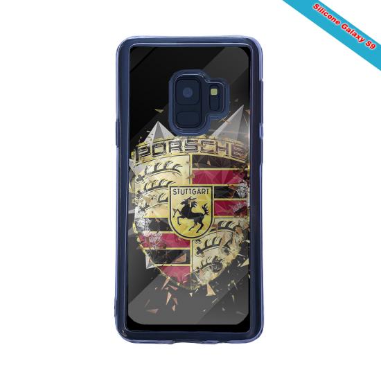 Coque silicone Galaxy S21 Fan de Rugby Bordeaux Destruction