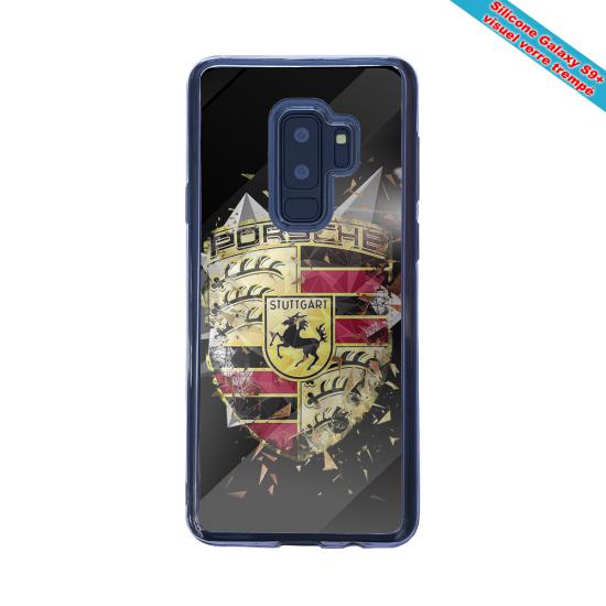 Coque silicone Galaxy S21 ULTRA Fan de Rugby Bordeaux Destruction
