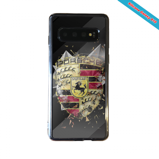 Coque Silicone Note 9 Fan de Rugby Bordeaux Destruction