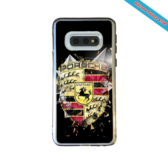 Coque Silicone Note 10 Fan de Rugby Bordeaux Destruction