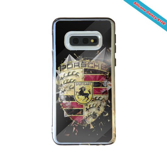 Coque silicone Huawei Mate 10 Fan de Rugby Bordeaux Destruction