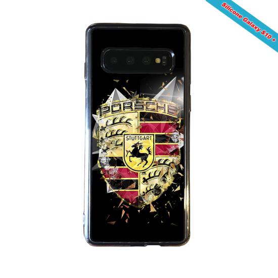 Coque silicone Huawei Mate 10 LITE Fan de Rugby Bordeaux Destruction