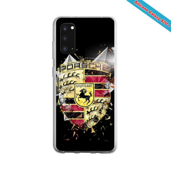 Coque silicone Huawei Mate 20 PRO Fan de Rugby Bordeaux Destruction