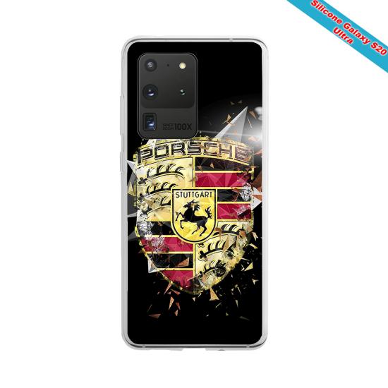 Coque silicone Huawei Mate 30 LITE Fan de Rugby Bordeaux Destruction