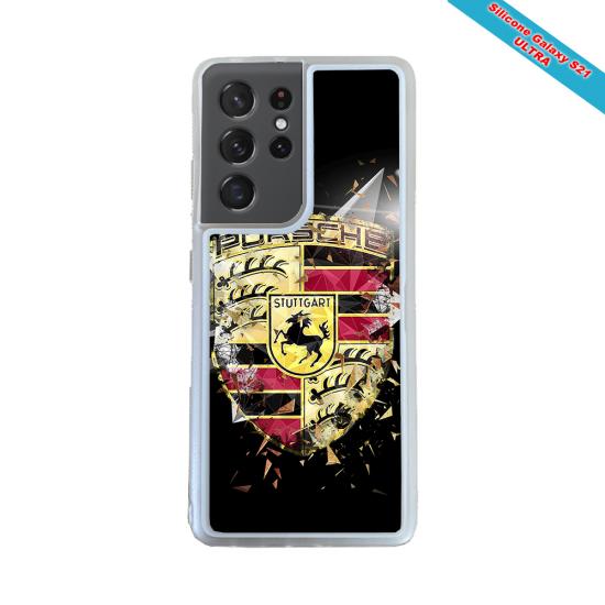 Coque silicone Huawei P8 lite 2017 Fan de Rugby Bordeaux Destruction