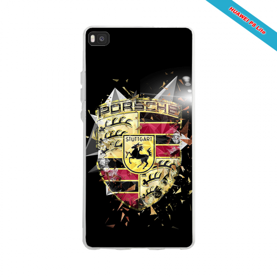 Coque silicone Huawei P40 Lite Fan de Rugby Bordeaux Destruction