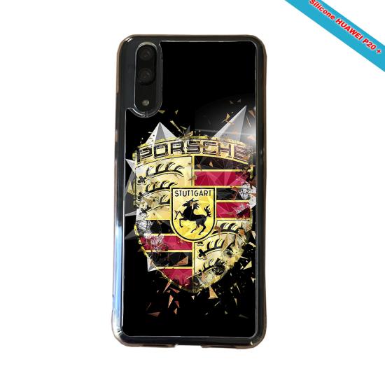 Coque silicone Iphone X/XS verre trempé Fan de Rugby Brive Destruction