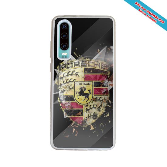 Coque silicone Iphone XR Verre Trempé Fan de Rugby Brive Destruction