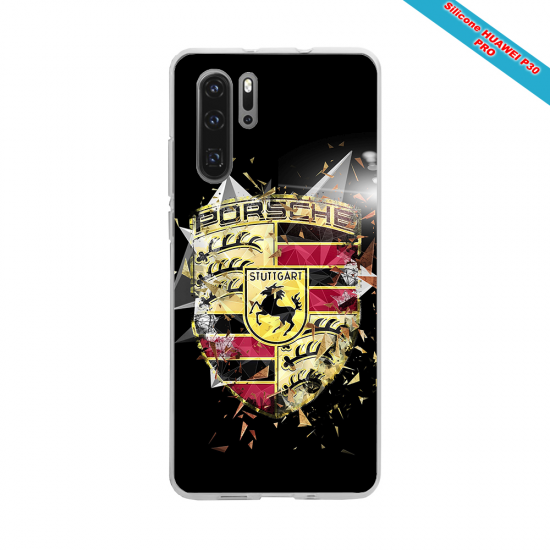 Coque silicone Iphone XS MAX Verre Trempé Fan de Rugby Brive Destruction