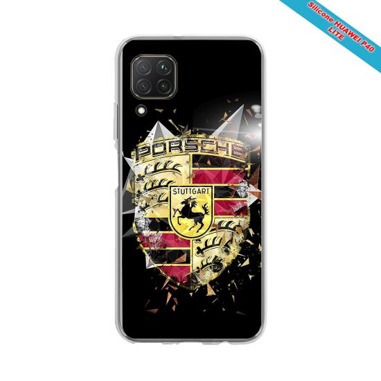 Coque silicone Iphone 11 verre trempé Fan de Rugby Brive Destruction