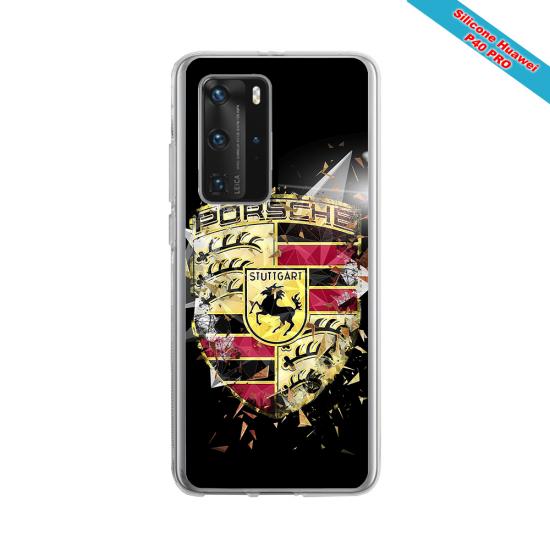 Coque silicone Iphone 11 Pro verre trempé Fan de Rugby Brive Destruction