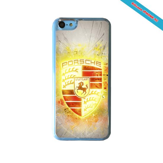 Coque silicone Iphone SE 2020 Fan de Rugby Brive Destruction