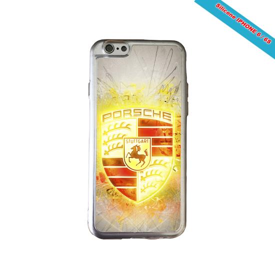 Coque silicone Iphone SE 2020 verre trempé Fan de Rugby Brive Destruction