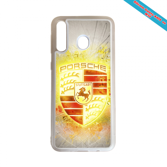 Coque silicone Galaxy M11 Fan de Rugby Brive Destruction