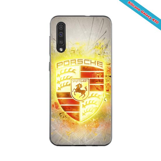 Coque silicone Galaxy M31 Fan de Rugby Brive Destruction