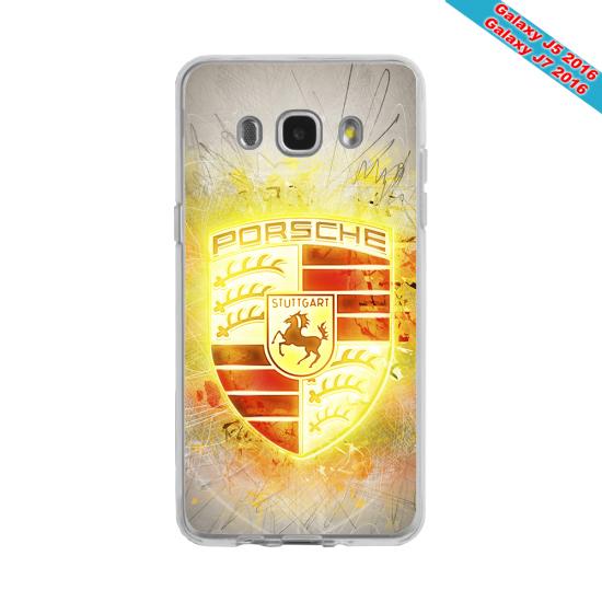 Coque Silicone Galaxy S9 PLUS verre trempé Fan de Rugby Brive Destruction