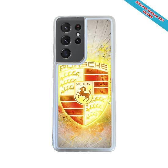 Coque silicone Huawei P20 LITE 2019 Fan de Rugby Brive Destruction