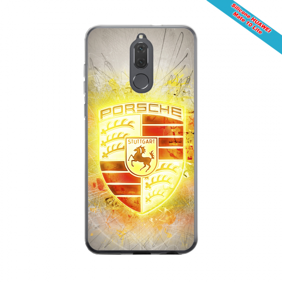 Coque silicone Huawei P40 Lite Fan de Rugby Brive Destruction