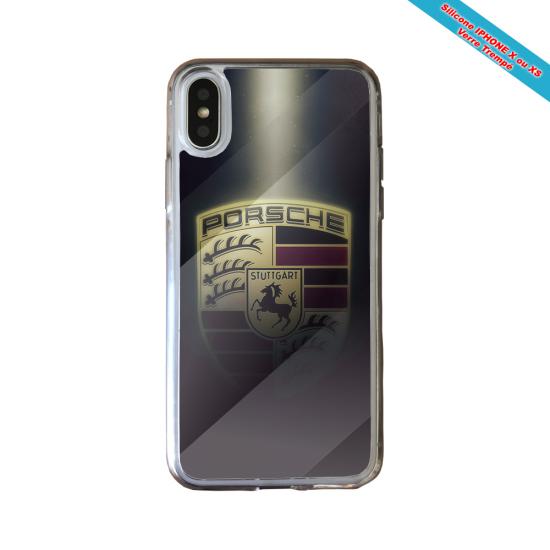 Coque silicone Galaxy A70 Fan de Rugby Castres Destruction