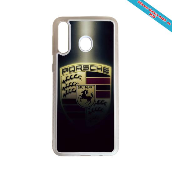 Coque silicone Huawei Mate 10 LITE Fan de Rugby Castres Destruction