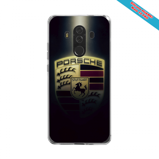 Coque silicone Iphone X/XS Fan de Rugby Clermont Destruction