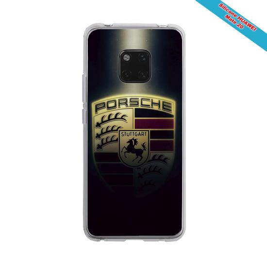 Coque silicone Iphone X/XS verre trempé Fan de Rugby Clermont Destruction