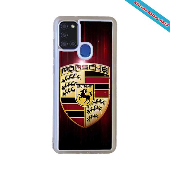 Coque Silicone Galaxy S9 PLUS verre trempé Fan de Rugby Clermont Destruction