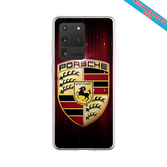Coque Silicone iphone 7/8 verre trempé Fan de Rugby Lyon Destruction
