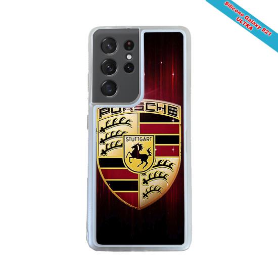 Coque silicone Iphone X/XS Fan de Rugby Lyon Destruction