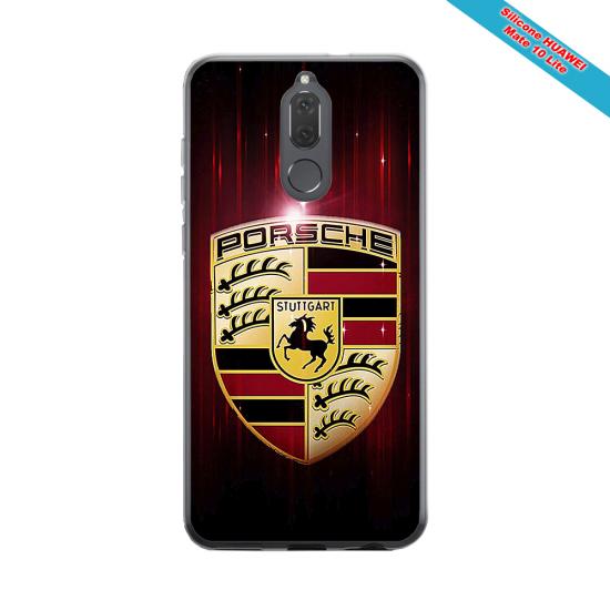 Coque silicone Iphone 11 verre trempé Fan de Rugby Lyon Destruction