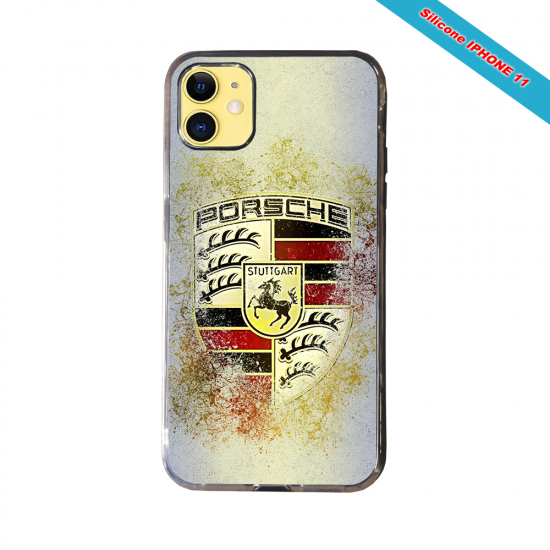 Coque Silicone Galaxy S6 EDGE Fan de Rugby Lyon Destruction