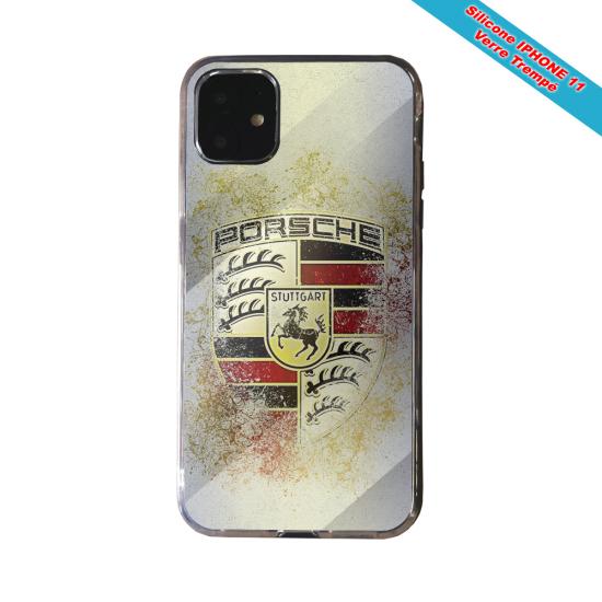Coque Silicone Galaxy S8 Fan de Rugby Lyon Destruction