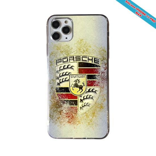 Coque Silicone Galaxy S8 PLUS Fan de Rugby Lyon Destruction
